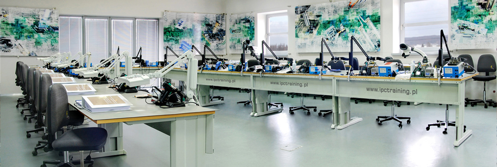 Professional equipment training rooms